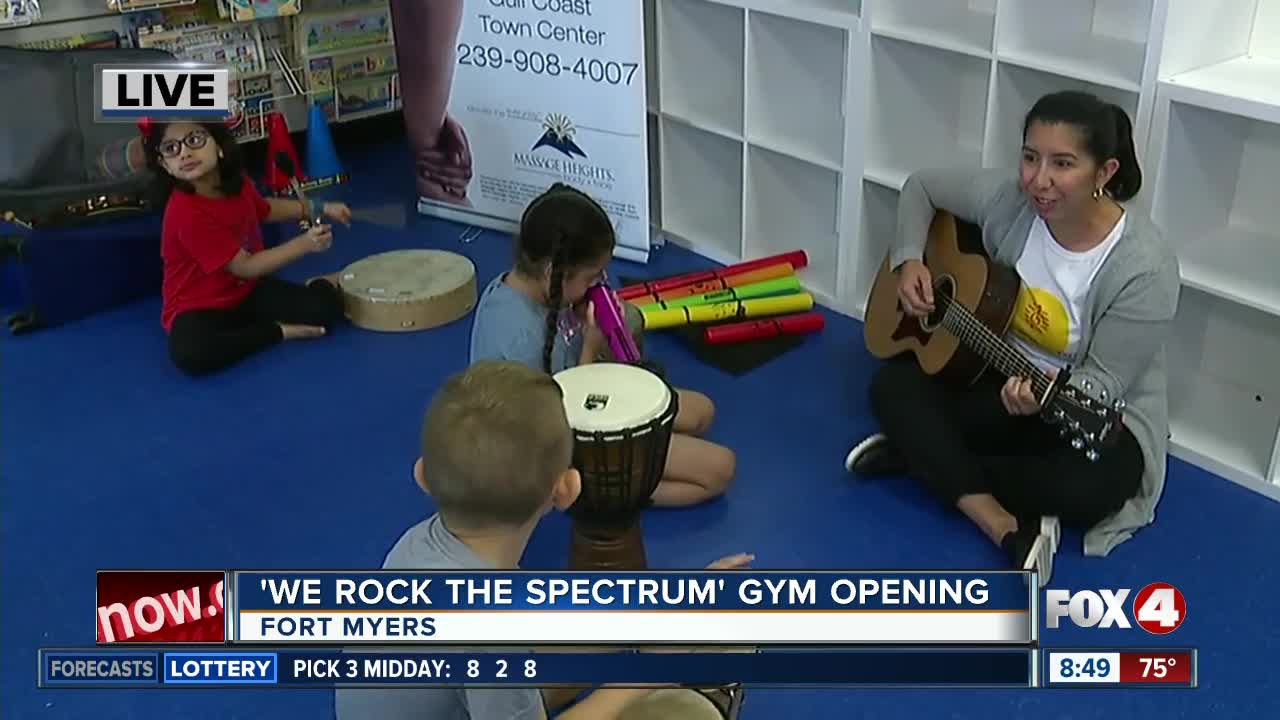 Kids gym opening in Fort Myers offers music therapy