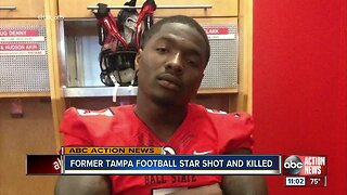 Former Plant High football star Eric Patterson killed in shooting early Saturday morning