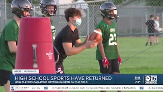 How student athletes can avoid injuries