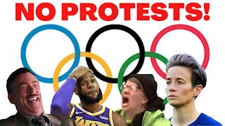 IOC PROTESTING BAN will STAND at OLYMPICS in Tokyo & Beijing!