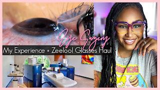 My Lasik Eye Surgery Experience & Zeelool Glasses Haul