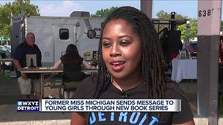 Former Miss Michigan sends message to young girls through new book series
