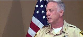 LVMPD Sheriff addresses protest arrests