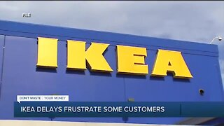 IKEA delays frustrate some customers