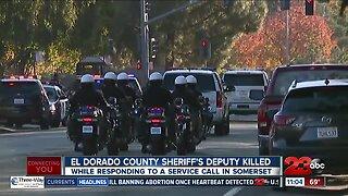 El Dorado County Sheriff's Deputy Killed