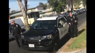 Black Youth Run Cops out of L.A. Neighborhood Over Social Distancing Warning