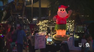 Fort Pierce residents put on their own holiday parade