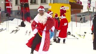 Una sfida tra Babbi Natale