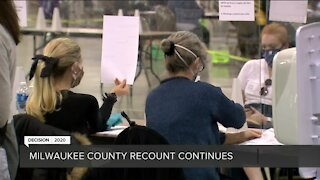 Milwaukee County recount day three