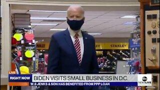 Biden Handlers REFUSE To Let Press Ask Biden Questions
