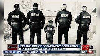 Delano Police raise money for local boy battling cancer