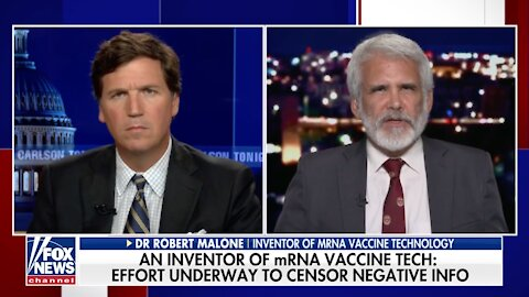 Dr. Robert Malone: Effort Underway To Censor Negative Info About COVID-19 Vaccines