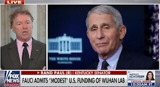 Dr. Fauci must testify under oath about money given to Wuhan lab: Rand Paul-1726