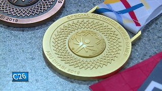Athlete and mother win gold at Special Olympics World Games