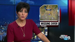Missing diver found