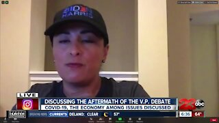 Local political analysts discuss VP debate