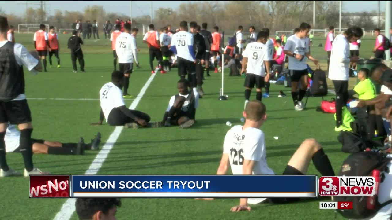 Union Soccer tryouts