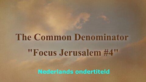 Focus Jerusalem - Week 4, 03/06/2021 - Nederlands ondertiteld