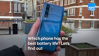 Which phone has the best battery life? Let's find out