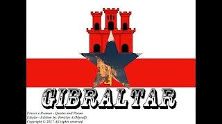 Bandeiras e fotos dos países do mundo: Gibraltar [Frases e Poemas]