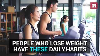 Daily habits of successful dieters | Rare Life