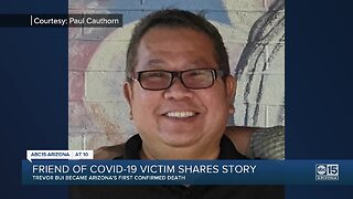 Friend of COVID-19 victim shares story