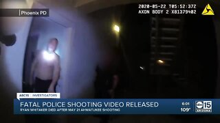 Fatal police shooting video released