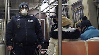 NYPD Arrests Subway Murder Suspect