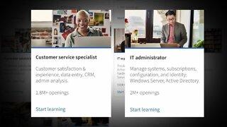 Microsoft Skills Initiative teaches digital skills