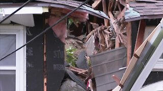 Everyone safe after wind blows trees into Olean homes