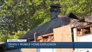 Deadly mobile home explosion in Taylor