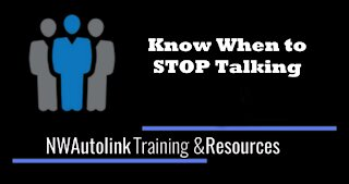 NWAutolink - Know when to STOP Talking