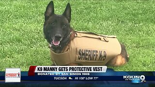 Cochise County K9 gets protective vest