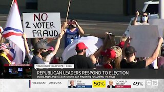 Republican leaders respond to election