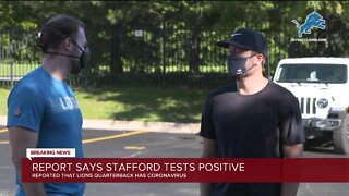 Report says Matthew Stafford tested positive for COVID-19