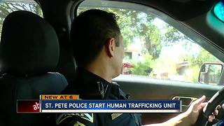 St. Pete PD forms new human trafficking unit