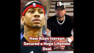 How Allen Iverson Secured a Huge Lifetime Deal