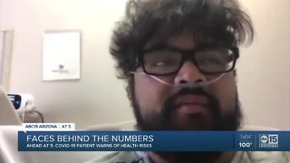 Valley man shares message about COVID-19