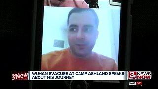 Wuhan evacuee speaks about his life in quarantine