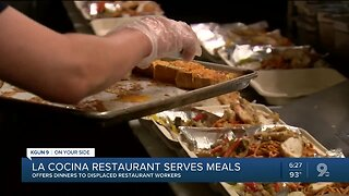 La Cocina restaurant serves free meals to other restaurant workers out-of-work