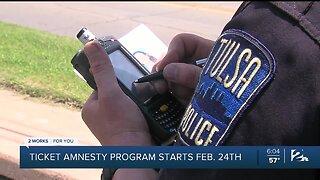 Ticket Amnesty Program Starts Feb. 24
