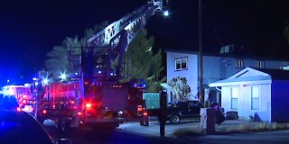 House fire under investigation after person found unresponsive