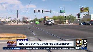 Transportation 2050 progress report
