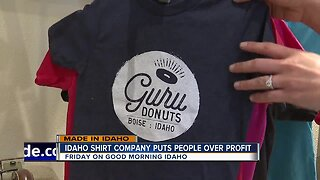 MADE IN IDAHO: Local company fighting hunger one T-shirt at a time