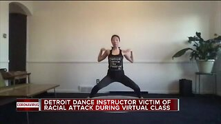 Detroit dance instructor victim of racial attack during virtual class