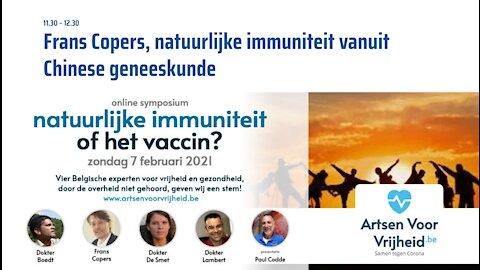 2. Frans Copers - Symposium Artsen Voor Vrijheid 7-2-2021