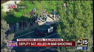 Dozen killed in California bar shooting
