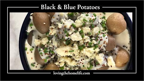 Black & Blue Potatoes