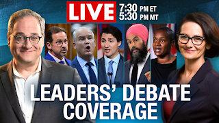 Rebel News LIVE! French Language Federal Leaders' Debate