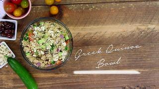 Simply Sweet Allison Greek Quinoa Salad